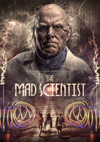The Great Escape Game Sheffield: Mad Scientist